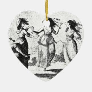 ヴィンテージのイメージ: 踊りの女中 セラミックオーナメント