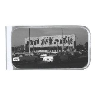 ヴィンテージのイラクバグダッドのtahrirの正方形1970年 シルバー マネークリップ