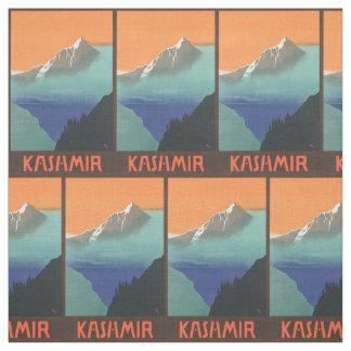 ヴィンテージのインド旅行(カシミール)カスタマイズ可能な生地 ファブリック