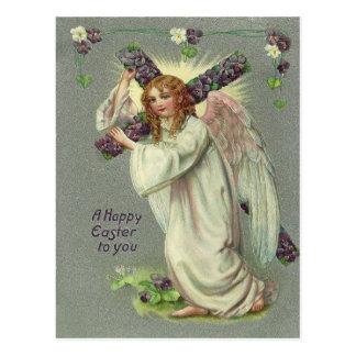 ヴィンテージのイースター天使 ポストカード