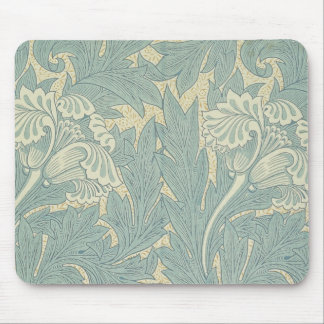 ヴィンテージのウィリアム・モリスのチューリップの花柄 マウスパッド