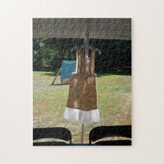 ヴィンテージのウェディングドレスのパズル ジグソーパズル