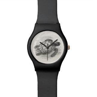ヴィンテージのウミガメの名前入りなウミガメ 腕時計