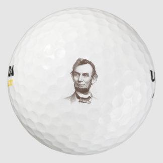 ヴィンテージのエイブラハム・リンカーンのポートレート ゴルフボール