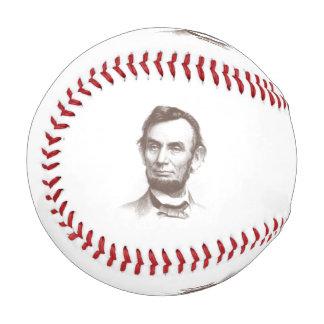 ヴィンテージのエイブラハム・リンカーンのポートレート 野球ボール