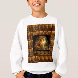 ヴィンテージのエジプトの偶像の芸術: 古代のピラミッド スウェットシャツ