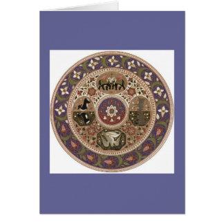 ヴィンテージのエジプト人の芸術 カード