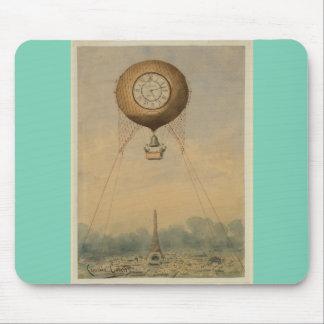 ヴィンテージのエッフェル塔を特色にするmousepad マウスパッド
