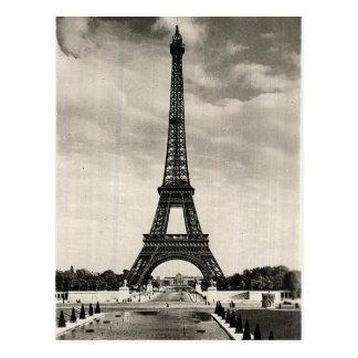 ヴィンテージのエッフェル塔パリ ポストカード
