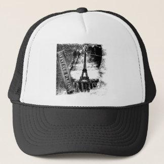 ヴィンテージのエッフェル塔パリ#2 -帽子 キャップ