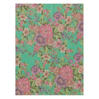 ヴィンテージのエレガントな花のテーブルクロス テーブルクロス