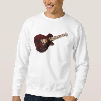 ヴィンテージのエレキギター スウェットシャツ