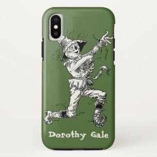 ヴィンテージのオズの魔法使いのおとぎ話、かかし iPhone X ケース