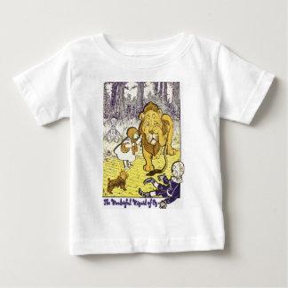 ヴィンテージのオズの魔法使いの第1版プリント ベビーTシャツ