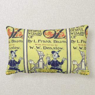 ヴィンテージのオズの魔法使いの表紙の芸術、とびら ランバークッション