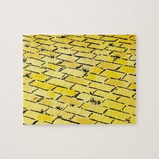 ヴィンテージのオズの魔法使いのDenslow著黄色い煉瓦道 ジグソーパズル