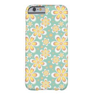 ヴィンテージのオレンジの花 BARELY THERE iPhone 6 ケース