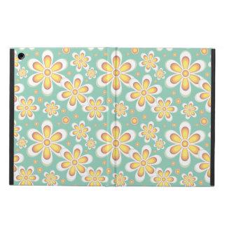 ヴィンテージのオレンジの花 iPad AIRケース