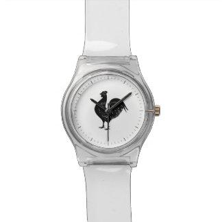 ヴィンテージのオンドリ 腕時計