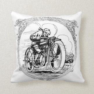ヴィンテージのオートバイ クッション