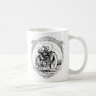 ヴィンテージのオートバイ コーヒーマグカップ