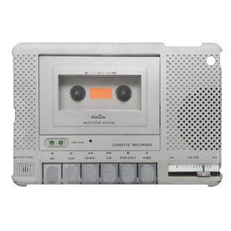 ヴィンテージのカセット・レコーダ iPad MINI カバー