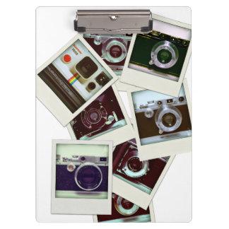 ヴィンテージのカメラのクリップボードのバルクイメージ クリップボード