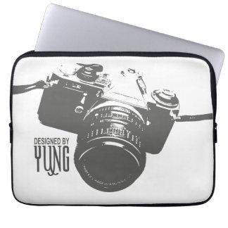 ヴィンテージのカメラの箱の袖 ラップトップスリーブ