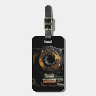 ヴィンテージのカメラの荷物のラベル ラゲッジタグ