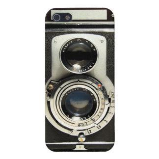 ヴィンテージのカメラのRolleiflexのiPhone 5の場合 iPhone SE/5/5sケース