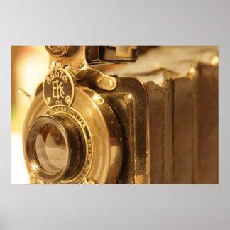 ヴィンテージのカメラ2 ポスター