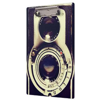ヴィンテージのカメラ クリップボード