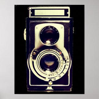 ヴィンテージのカメラ ポスター
