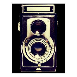 ヴィンテージのカメラ ポストカード