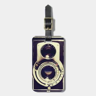 ヴィンテージのカメラ ラゲッジタグ