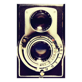 ヴィンテージのカメラ 便箋