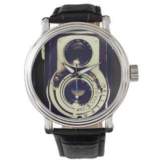 ヴィンテージのカメラ 腕時計