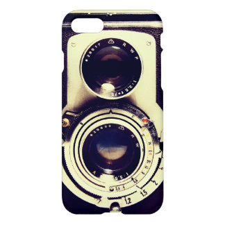 ヴィンテージのカメラ iPhone 8/7 ケース