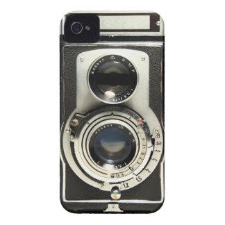 ヴィンテージのカメラRolleiflex Case-Mate iPhone 4 ケース