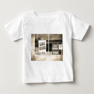 ヴィンテージのガス戦争の印 ベビーTシャツ