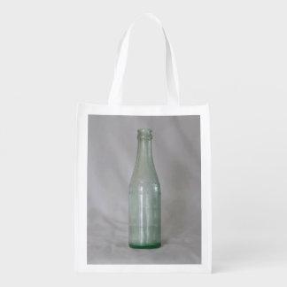 ヴィンテージのガラスビン エコバッグ