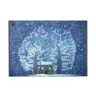 ヴィンテージのガーリーな冬の不思議の国 iPad MINI ケース