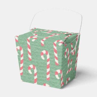 ヴィンテージのキャンディ・ケーンパターン フェイバーボックス