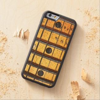 ヴィンテージのギターの焦燥 CarvedメープルiPhone 6バンパーケース