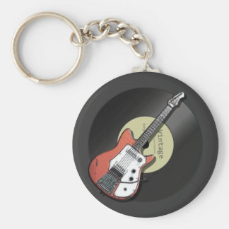 ヴィンテージのギター キーホルダー