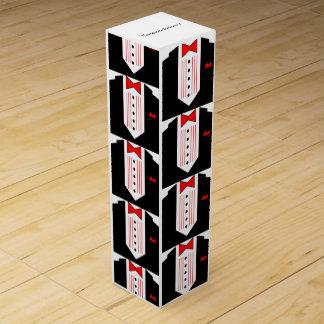 ヴィンテージのギフトのワイン箱のタキシードのお祝い! ワインギフトボックス