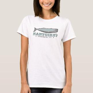 ヴィンテージのクジラのNantucket MA株式会社の1671年のTシャツ Tシャツ
