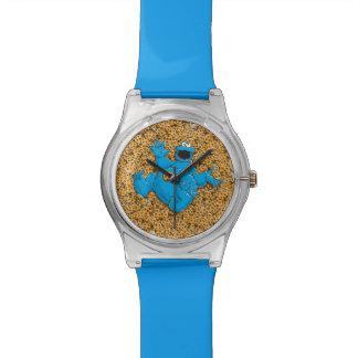 ヴィンテージのクッキーのモンスターおよびクッキー 腕時計