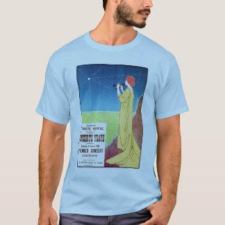 ヴィンテージのクラシック音楽コンサートのブリュッセルの広告 Tシャツ