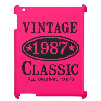 ヴィンテージのクラシック1987年 iPadカバー